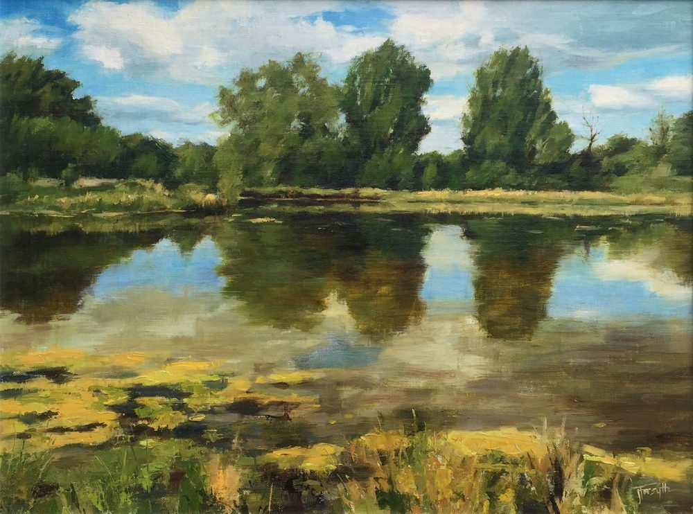 Lake Near Calne